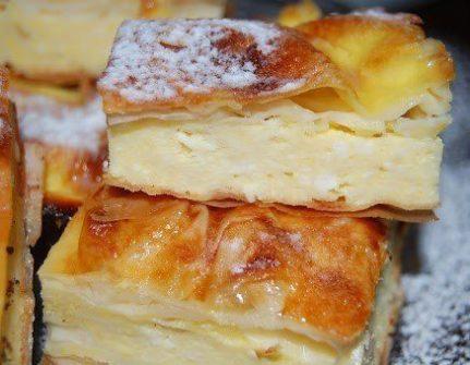 Cheese pie £1.50