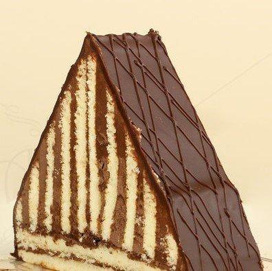 Chocolate triangle £2.00